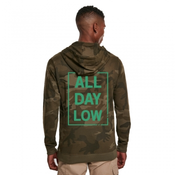 All day low CAMO - Hoodie