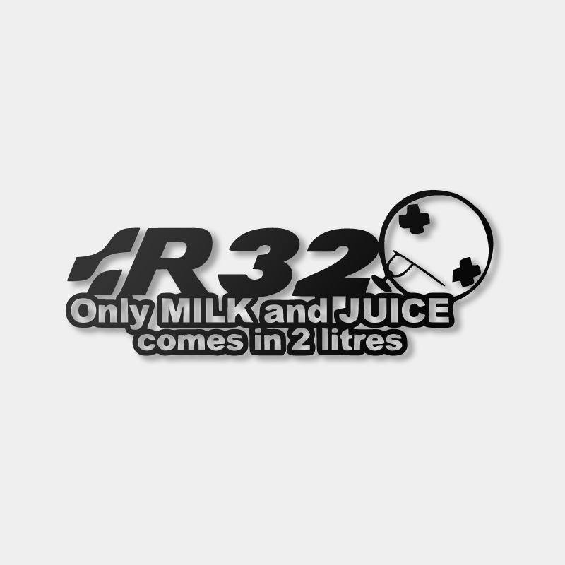 R32 Milk & Juice - Sticker